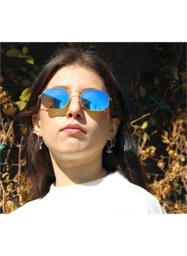 Optoline Opc 17004 03 Kare  Gövde Polarize Cam Unısex Güneş Gözlüğü Yeşil